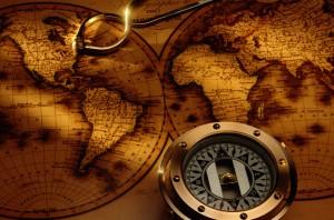 compass-antique-map